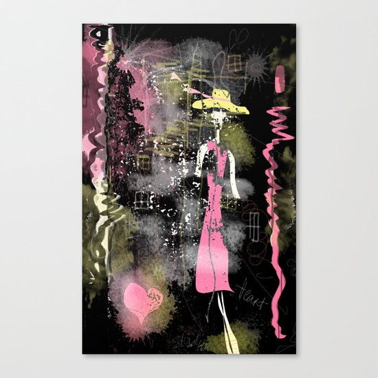 lost heart Canvas Print