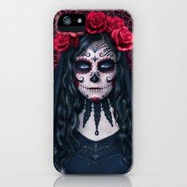 Santa Muerte iPhone Case