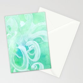 Nacreous Octopus Stationery Cards