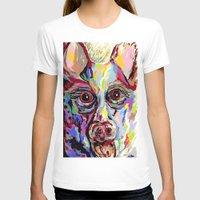 german shepherd T-shirts featuring German Shepherd by EloiseArt