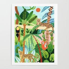 Jungle Pals Poster