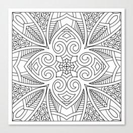 Doodle Patterns Coloring Canvas Home Decor Wall Art Canvas Print Canvas Print