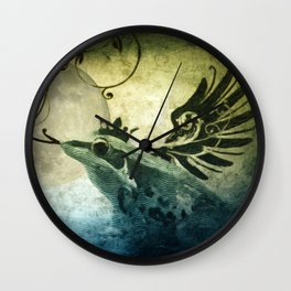 Frog Prince Midnight Fantasy Wall Clock