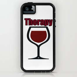 wine therapy iPhone Case