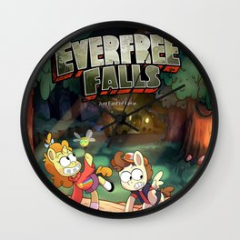Everfree Falls Wall Clock