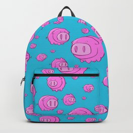 When Pigs Fly, Or Float! Backpack