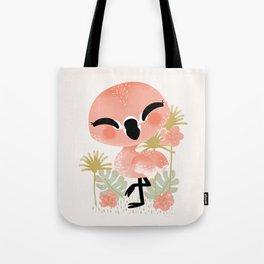 "The ""Animignons"" - the Flamingo Tote Bag"