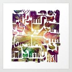 forestanimal Art Print