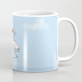Heron Birds In Love Coffee Mug