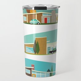 Hollywood Bungalows Travel Mug