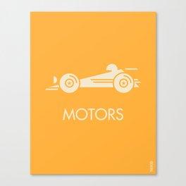 MOTORS / The Car Canvas Print
