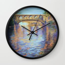 The River Cam Wall Clock