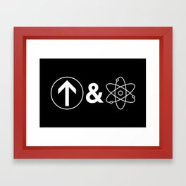 Up&Atom Framed Art Print