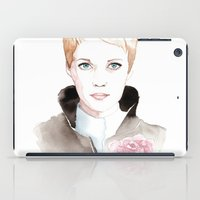 mia wallace iPad Cases featuring Mia by De Baluret