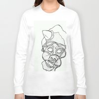tangled Long Sleeve T-shirts featuring Tangled by Yellowdemotape