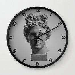 The Minimalist Poster Design #1 Wall Clock