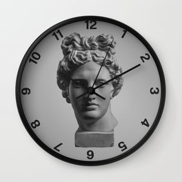 The Minimalist Poster Design #1 Wall Clock