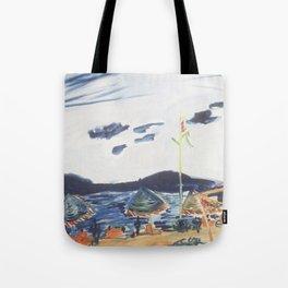 Surf Lodge Montauk II Tote Bag