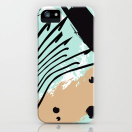 Marine splash iPhone Case