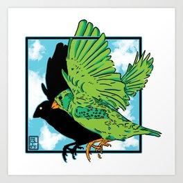 Larry Art Print