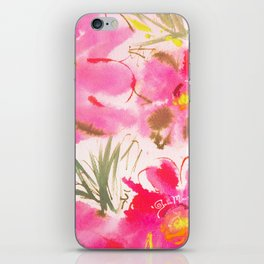 Floral expressions #3 iPhone Skin
