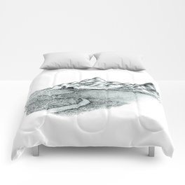 Mountain Sounds Comforters