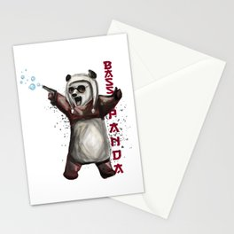Bass Panda Stationery Cards