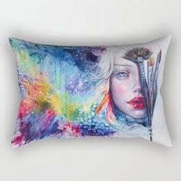 Coralized Rectangular Pillow