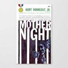 Vonnegut - Mother Night Canvas Print