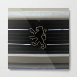 Peugeot Metal Print