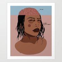 IDK MAN Art Print
