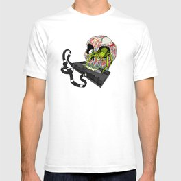 VHS Horror-Phobia by Cap Blackard T-shirt