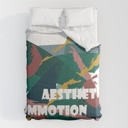 Aesthetic Commotion Comforters