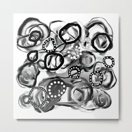 Ice Bubbles 02 Metal Print
