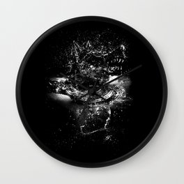 WATER WOLF Wall Clock