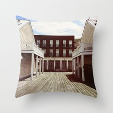 RIVER FRONT II Throw Pillow