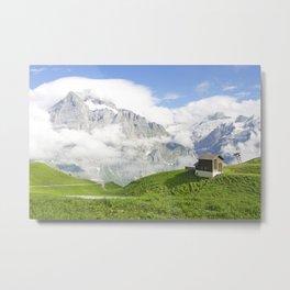 Grindelwald, Switzerland Metal Print