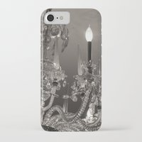 chandelier iPhone & iPod Cases featuring Chandelier  by Nicole Webb