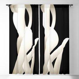 nude Blackout Curtain