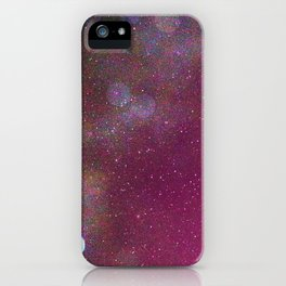 Looking Up Into Space iPhone Case