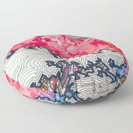 Moonset Floor Pillow