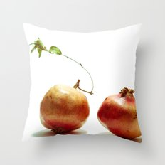 Pomegrantes Throw Pillow