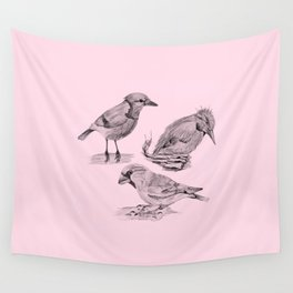 Candy Birds  2 Wall Tapestry
