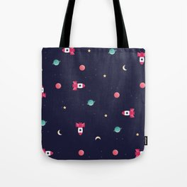 COSMODOG : rocket Tote Bag