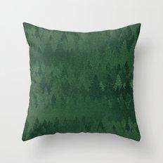 TREE L/NE Throw Pillow