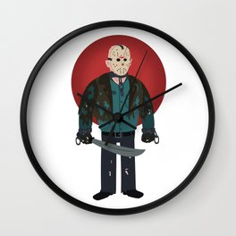 Jason Voorhees Friday the 13th Jason X Wall Clock
