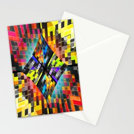 qr code matrix Stationery Cards