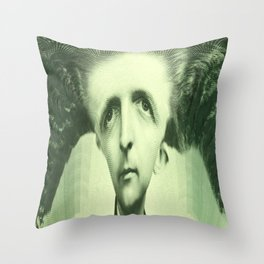 L'argent Or Something Throw Pillow