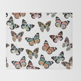 You Give Me Butterflies.. Throw Blanket