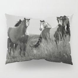 Cariboo Horses Pillow Sham